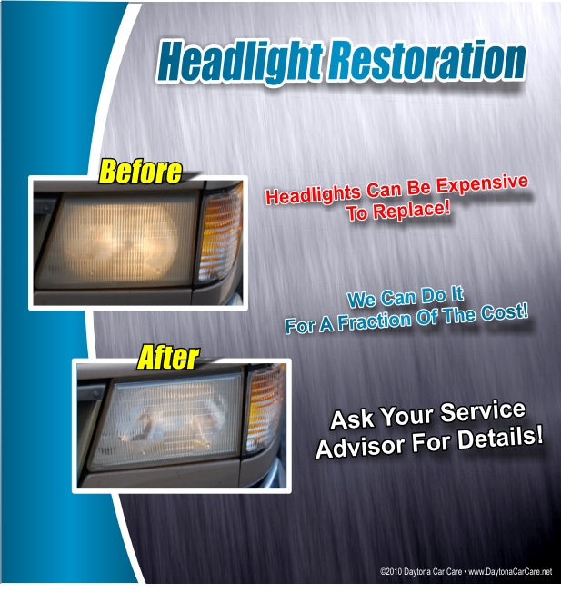 Ed Voyles Kia Headlight Restoration Service